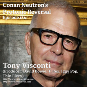 Ep184: Tony Visconti (Producer: David Bowie, T. Rex, Iggy Pop, Thin Lizzy)