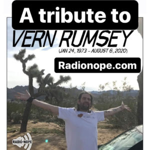A tribute to Vern Rumsey