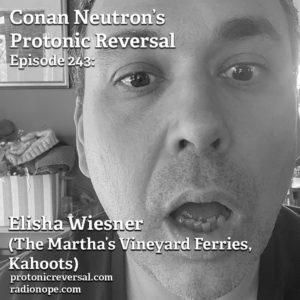 Ep244: Elisha Wiesner (The Martha's Vineyard Ferries, Kahoots)