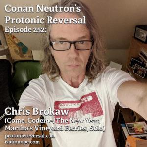 Ep252: Chris Brokaw (Come, Codeine, The New Year, Martha's Vineyard Ferries, Solo)